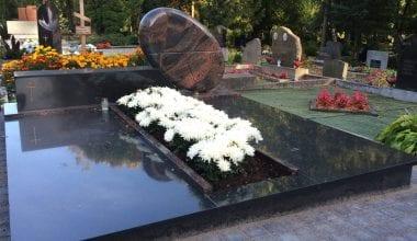Гранитные плиты для могил - 11