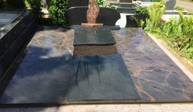 Гранитные плиты для могил - 12