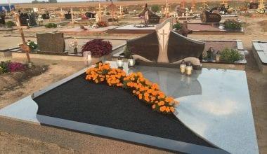 Гранитные плиты для могил - 14