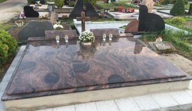 Гранитные плиты для могил - 16