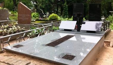Гранитные плиты для могил - 2