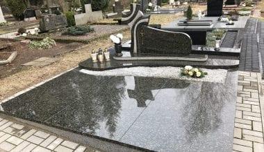 Гранитные плиты для могил - 20