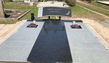 Гранитные плиты для могил - 21