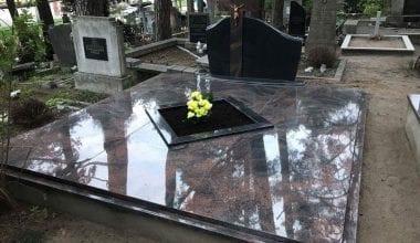 Гранитные плиты для могил - 22