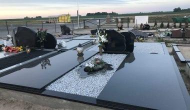Гранитные плиты для могил - 23