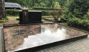 Гранитные плиты для могил - 24