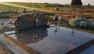 Гранитные плиты для могил - 28