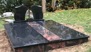 Гранитные плиты для могил - 29