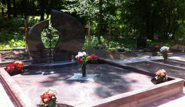 Гранитные плиты для могил - 5